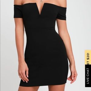 LuLu's Cheers To This Off The Shoulder Bodycon